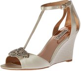 Badgley Mischka Women's Nedra Wedge Sandal