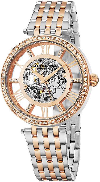 Stuhrling Original Womens Two Tone Bracelet Watch-Sp16317