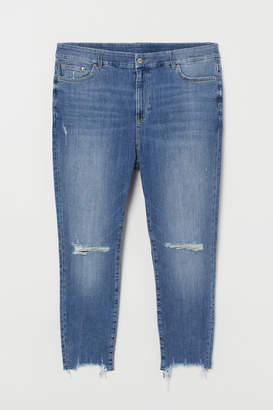 H&M H&M+ Skinny High Ankle Jeans - Blue
