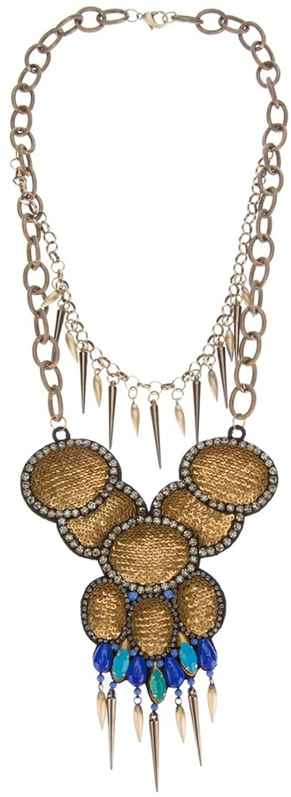 Deepa Gurnani layered necklace