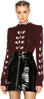 Isabel Marant Ilia Openwork Knit Sweater