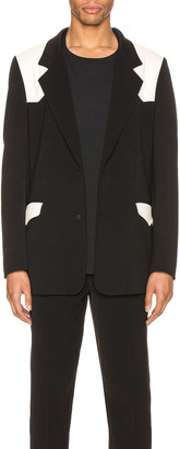 Keiser Clark Western Detective Suit Jacket in Black & White | FWRD