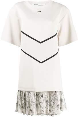 Off-White intarsia T-shirt dress