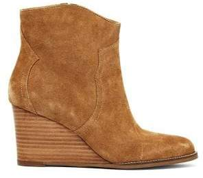 Andre Assous Sally Suede Wedge Booties