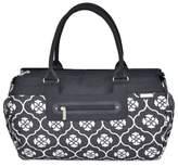 JJ Cole Parker Weekender Diaper Bag in Black Floret