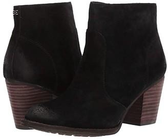 Sam Edelman Mari (Black Velutto Suede Leather) Women's Shoes