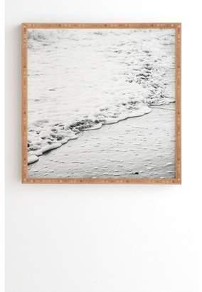 Deny Designs Bree Madden The Shore Landscape Framed Wall Art Blue