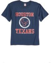 Junk Food Clothing Kick Off Houston Texans T-Shirt (Toddler Boys, Little Boys & Big Boys)