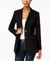 MICHAEL Michael Kors Embellished Two-Button Blazer