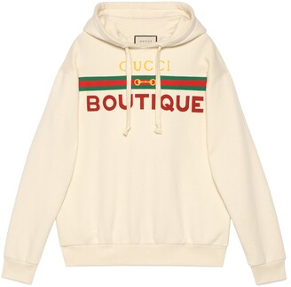Gucci Boutique print sweatshirt