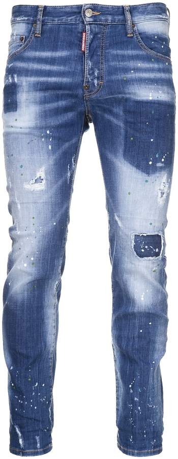 DSQUARED2 2 City Biker Jeans