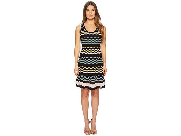 M Missoni Color Block Ripple Dress Women's Dress