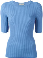 Sportmax ribbed knit T-shirt - women - Polyamide/Viscose - M