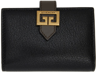 Givenchy Black GV3 Card Holder
