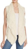 525 America Rabbit Fur Envelope Vest