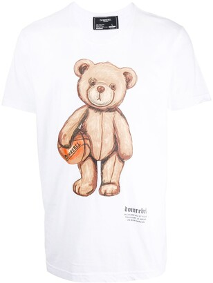 Dom Rebel teddybear print T-shirt
