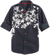 Sean John Floral-Print Cotton Shirt, Big Boys (8-20)