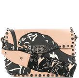 Valentino Garavani Valentino Rockstud Rolling shoulder bag - women - Leather - One Size