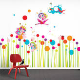 Little Darlings funky Flower Fairies Wall Stickers