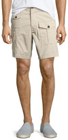 DSQUARED2 Military Cargo Shorts, Beige
