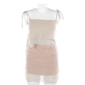Schumacher Brown Silk Top for Women