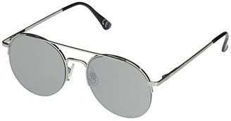Vans Top Down Aviator Sunglasses (Silver/Silver/Mirror Lens) Fashion Sunglasses