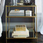 west elm Terrace Nightstand - Antique Brass