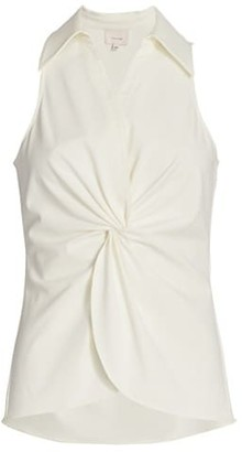 Cinq à Sept Mckenna Sleeveless Knotted Top