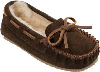 Minnetonka Children's Cassie Chocolate Moc Slippers