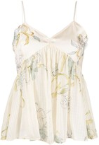 Thumbnail for your product : Forte Forte Floral Print Camisole