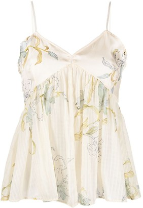 Forte Forte Floral Print Camisole