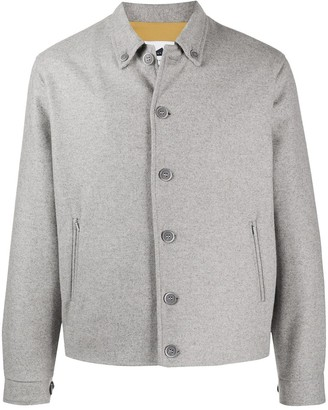 Anglozine Island button-down shirt jacket