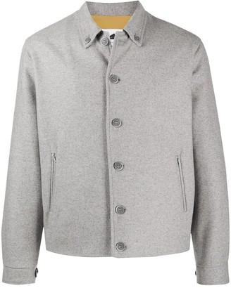 Anglozine Island button-down shirt jacket