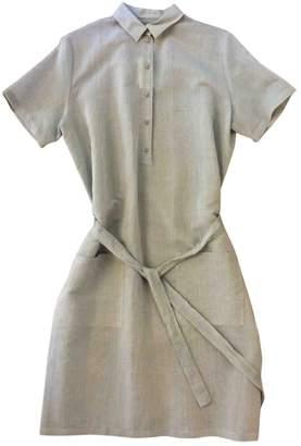 Green Cotton Samuji Dress for Women