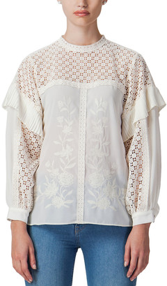 Champagne & Strawberry Blouse