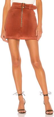 ELLEJAY Maddie Velvet Skirt