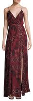 The Jetset Diaries Kilim Printed Maxi Dress