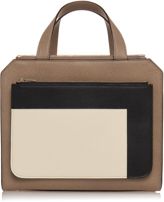 Valextra Passepartout Medium Grain Leather Bag