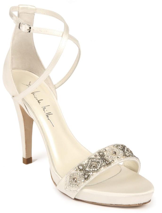 Nicole Miller Kelly Bridal Heels