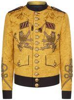 Dolce & Gabbana Military Jacquard Jacket