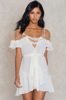 For Love & Lemons Little Rossette Robe