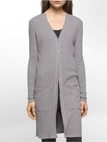 Calvin Klein Long Knit Cardigan