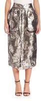 Maison Margiela Metallic Midi Cargo Skirt