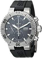 Oris Men's 67476557253RS Divers Analog Display Swiss Automatic Black Watch