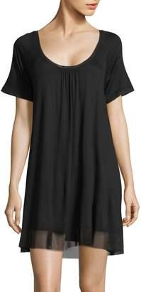 Hue Sleepwell Short-Sleeve Sleep Gown