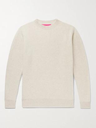 The Elder Statesman Cashmere Sweater - Men - White