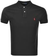 Ralph Lauren Custom Fit Polo T Shirt Black