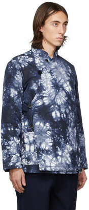 Blue Blue Japan Blue & White Kagozome Jacket