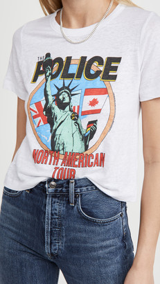 Chaser Police Crop Tee
