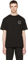 McQ by Alexander McQueen Black Logo Glyph Icon T-Shirt